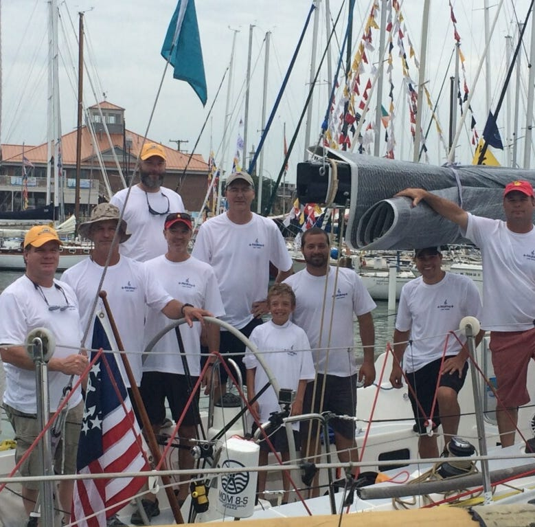 A dad, a 'miracle' baby and a Bayview Mackinac Race for the ages