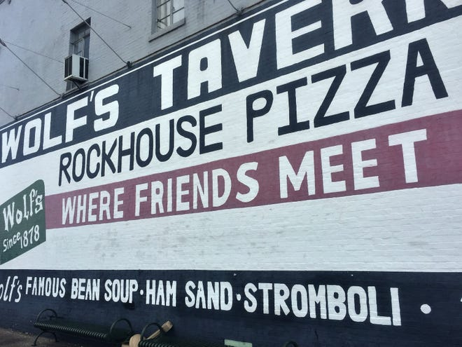 Rockhouse Pizza is preparing to move from the Historic Wolf's Tavern building to a new home on the Henderson riverfront.