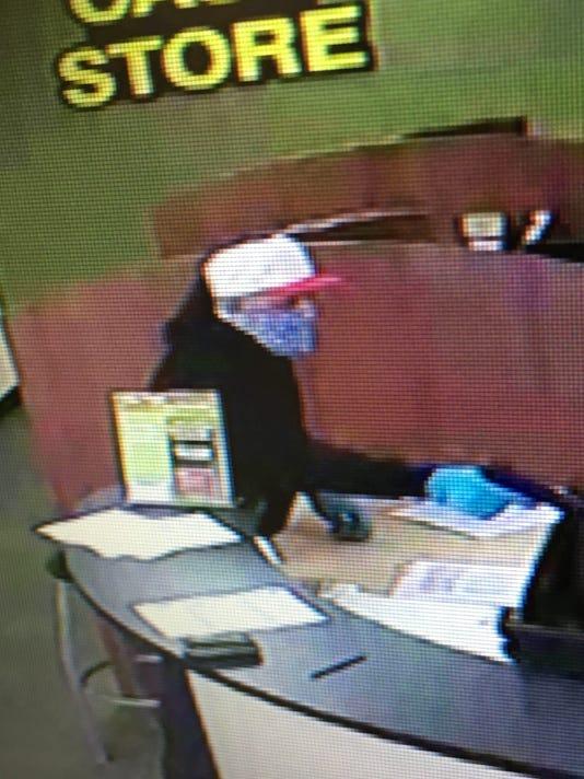 Cash Store robbery suspect