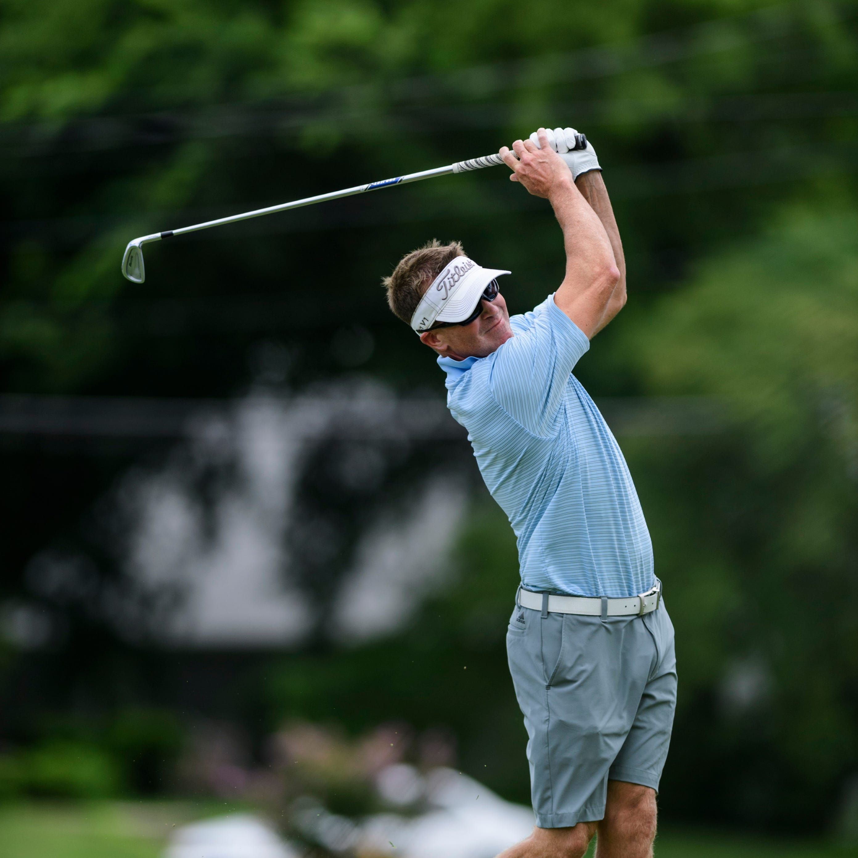 Andy Davis, Adam Grogan share first-round lead at Jace Bugg Men's City Tournament