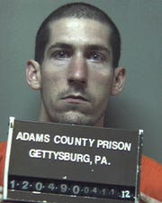Jonathan Leonard, charged in Tuesday's killing of 64 year old Christiana Leonard of McSherrystown.