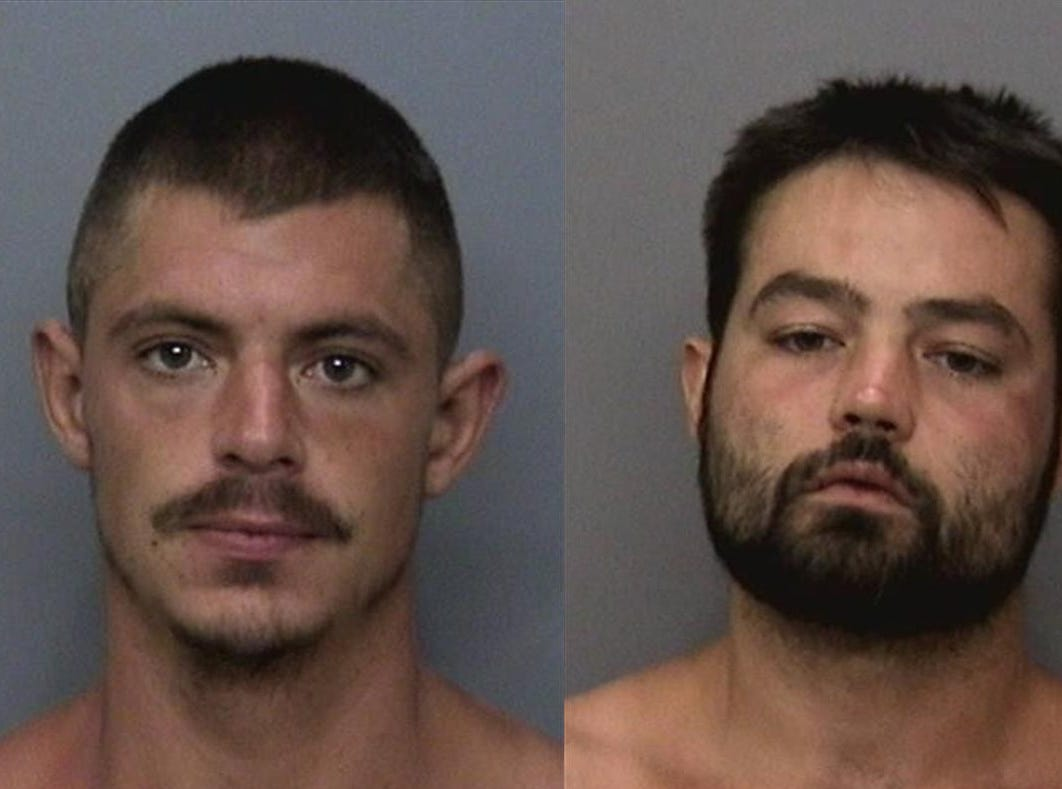 Colton Romenzak and David Howard were arrested by Shasta County Sheriff's  Office.