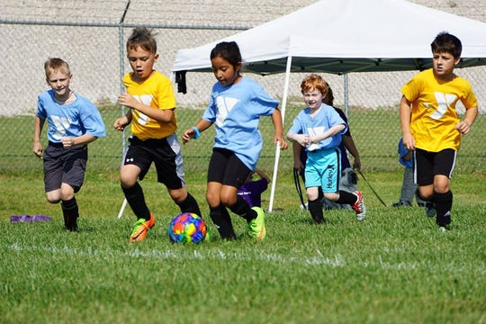 Soccer is one of many programs offered for kids as young as 3 at the YMCA