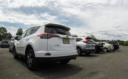 Cars parked in the main parking lot at Rockland Lake State Park in Congers on Saturday, July 21, 2018.