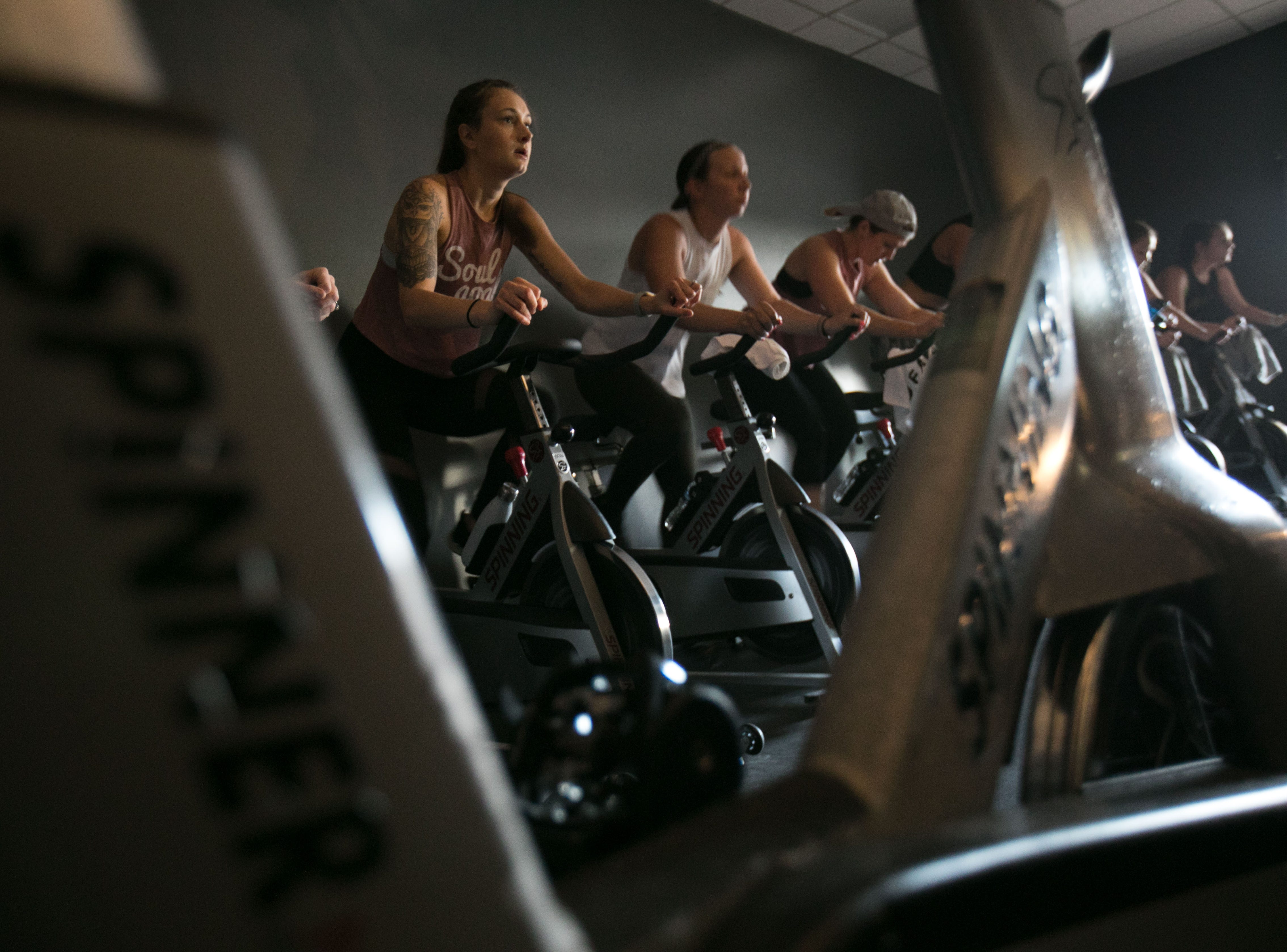 The Stables Spin Studio offers spin classes seven days a week.