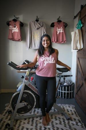 The Stables Spin Studio owner Lindsey Krick.