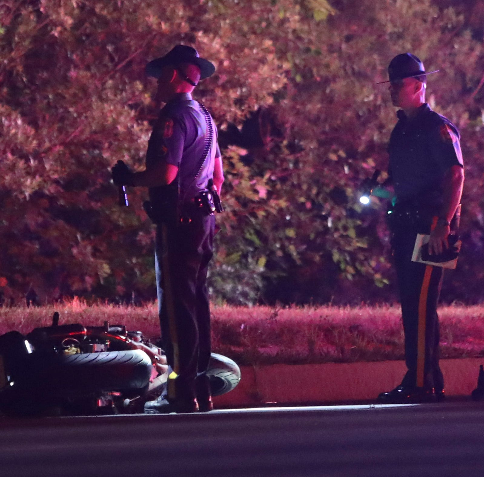 Early morning motorcycle crash near Concord High School causes serious injuries