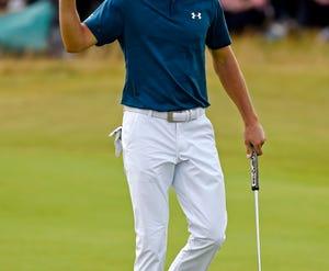 Jordan Spieth is the defending British Open champion.