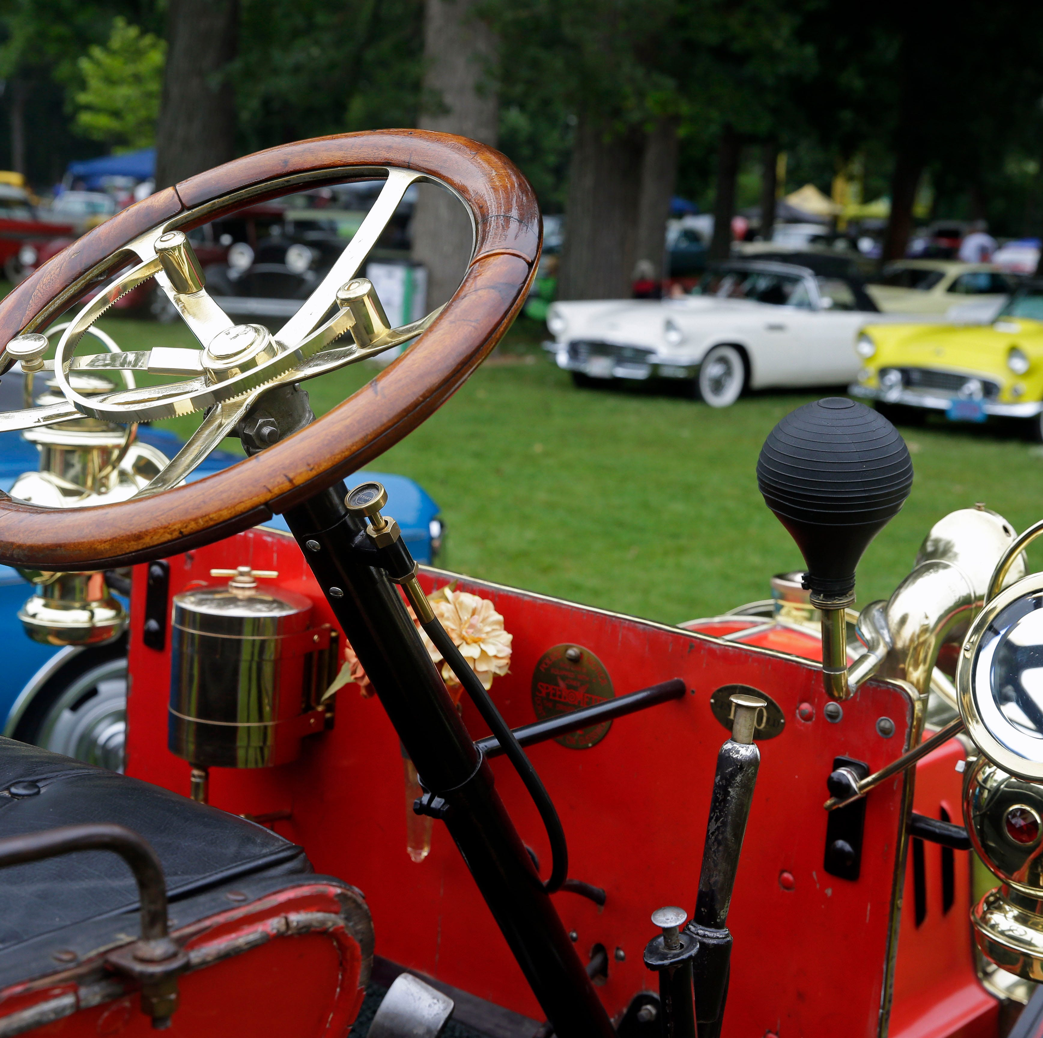 Rows of cars are on display as the Appleton Old Car Show and Swap Meet takes place Sunday, July 22, 2018, at Pierce Park in Appleton, Wis.Ron Page/USA TODAY NETWORK-Wisconsin