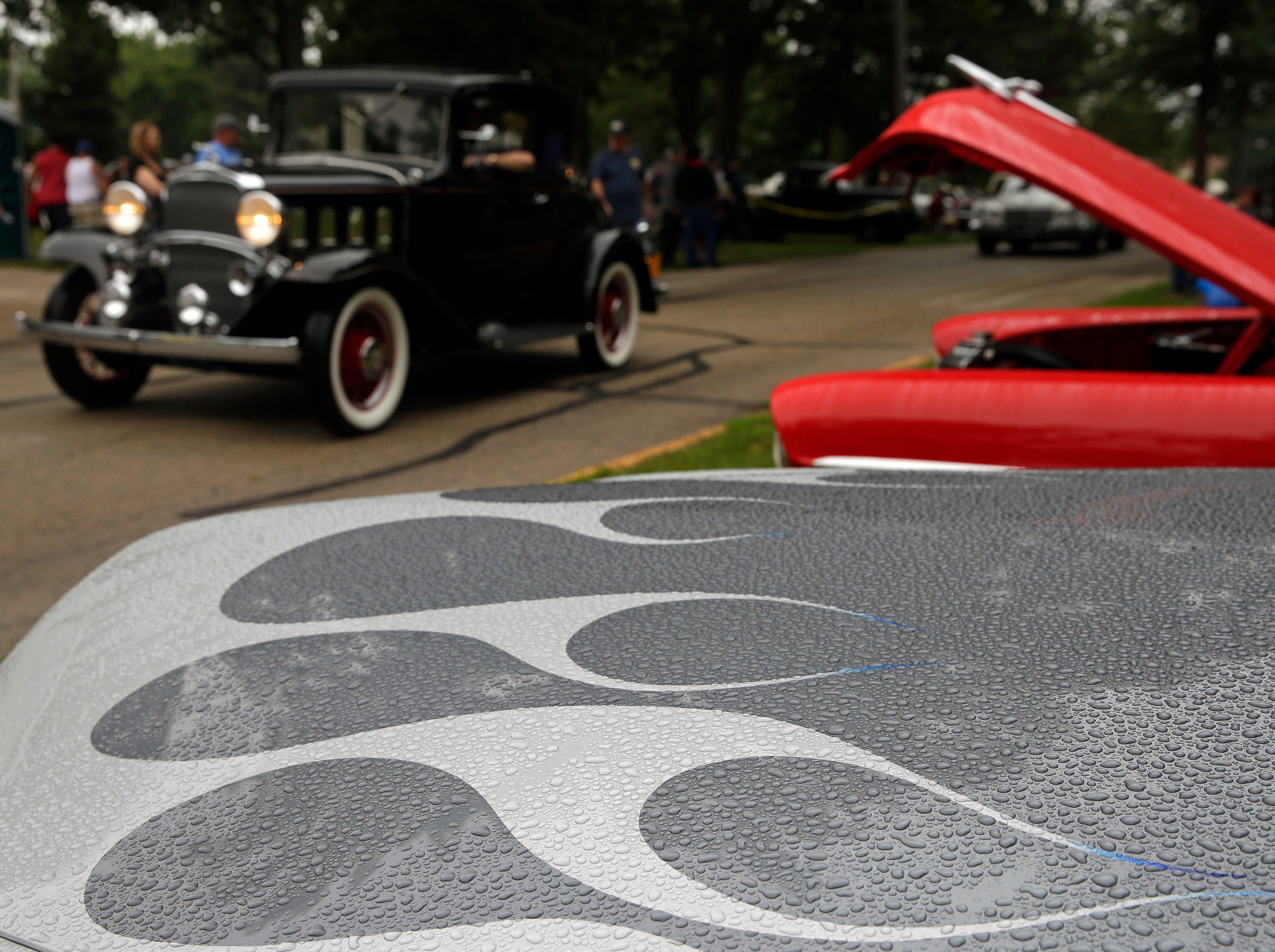 The Appleton Old Car Show and Swap Meet takes place Sunday, July 22, 2018, at Pierce Park in Appleton, Wis.
