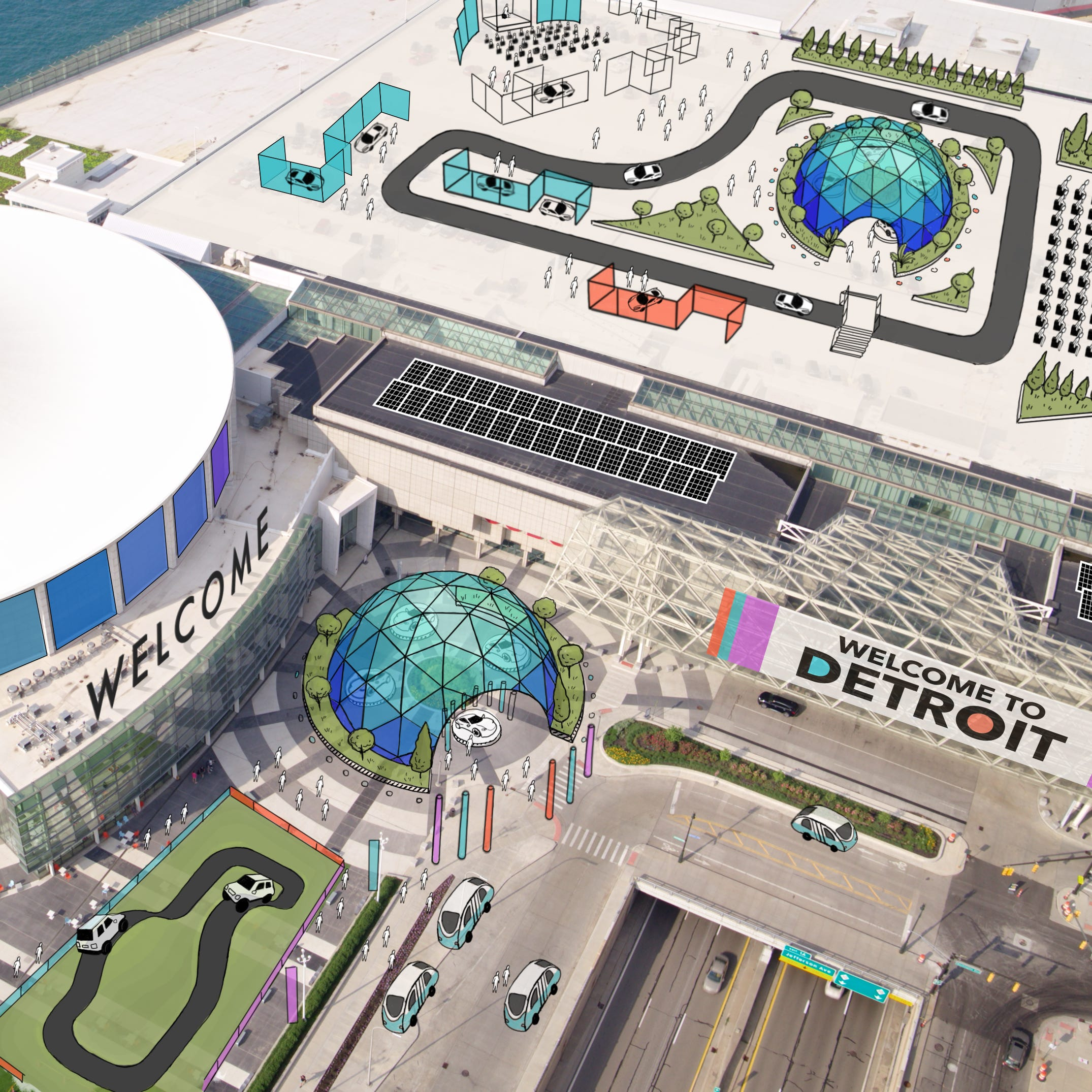 It's official: Auto show shifts to June in 2020, plans street festival