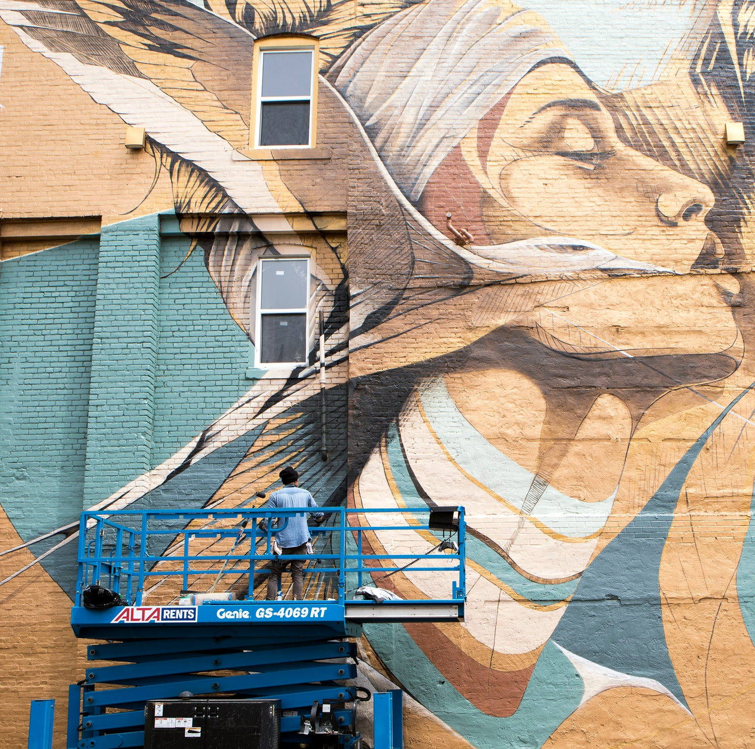A large bird, a tiger and a strong woman find a home in Corktown