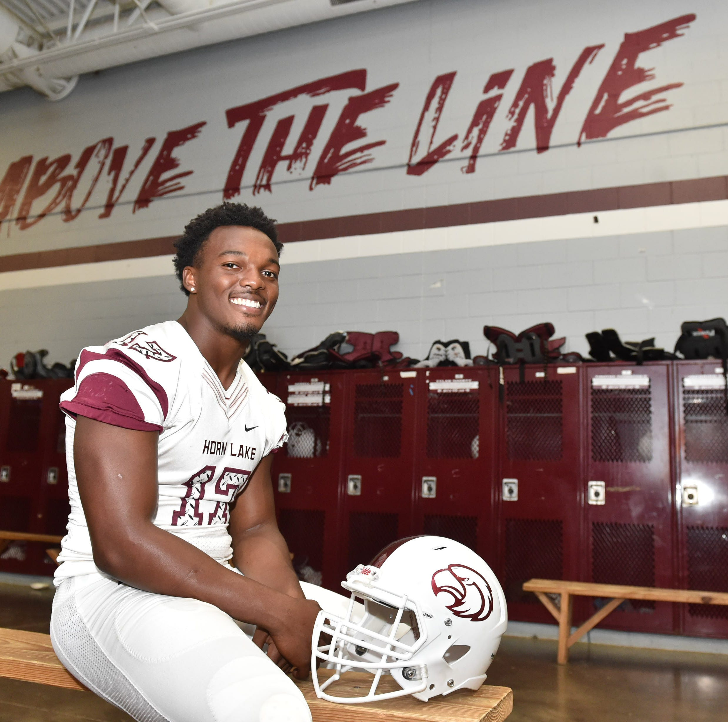 Horn Lake's Nakobe Dean is a straight-A student and a 5-star linebacker