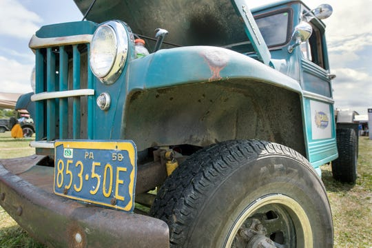 Willys Jeep tow truck on display during the 23rd Annual PA Jeeps All Breeds Jeep Show at the York Fairgrounds Sunday.