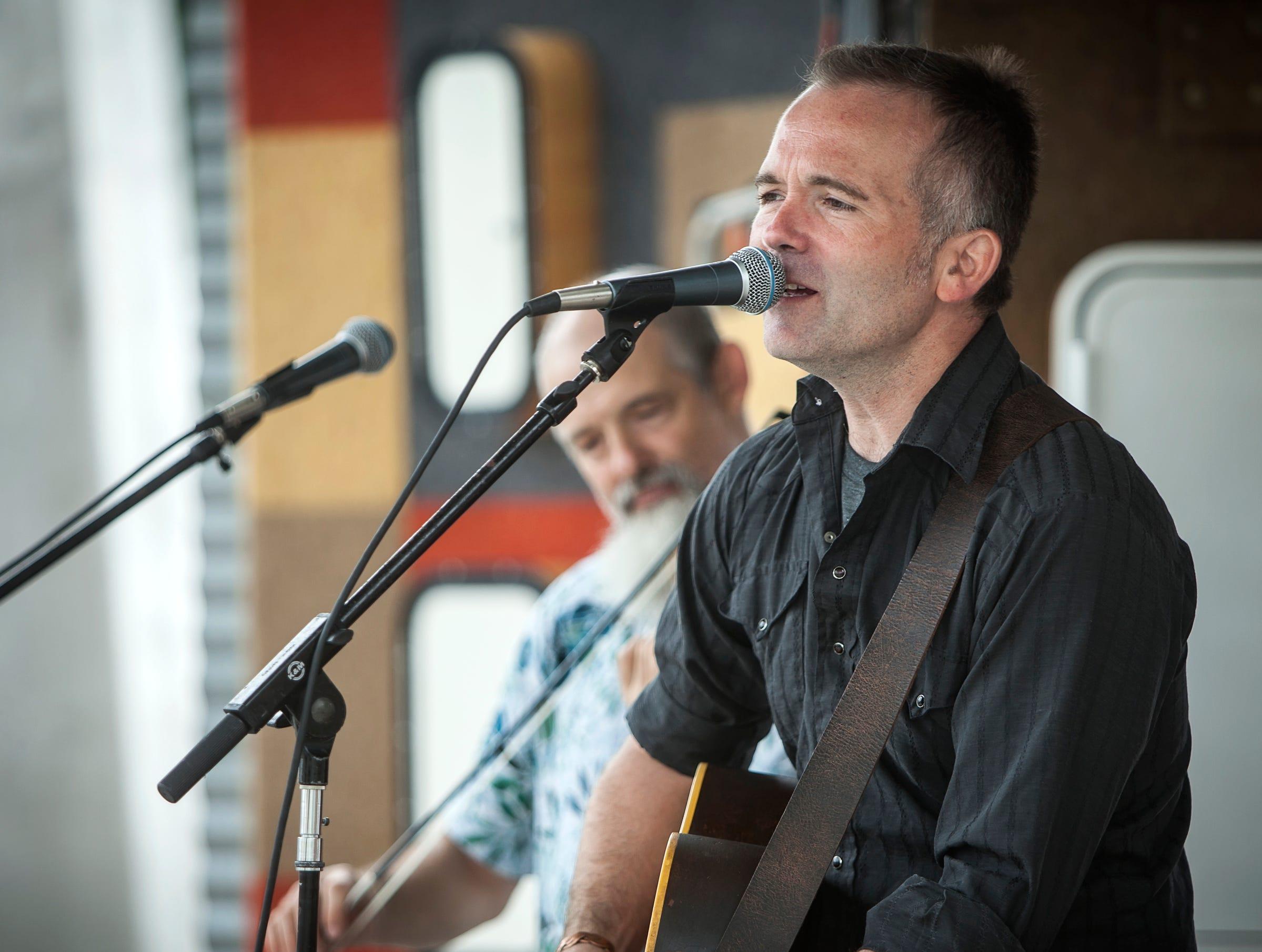 Josh Harty Band at the Midsummer Festival of the Arts outside the John Michael Kohler Arts Center in Sheboygan on July 21.