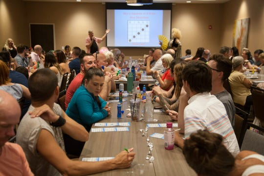 A.R.T.S. Inc. and Holiday Inn St. George hold a Drag Queen Bingo event to benefit Southern Utah Pride Saturday, July 21, 2018.