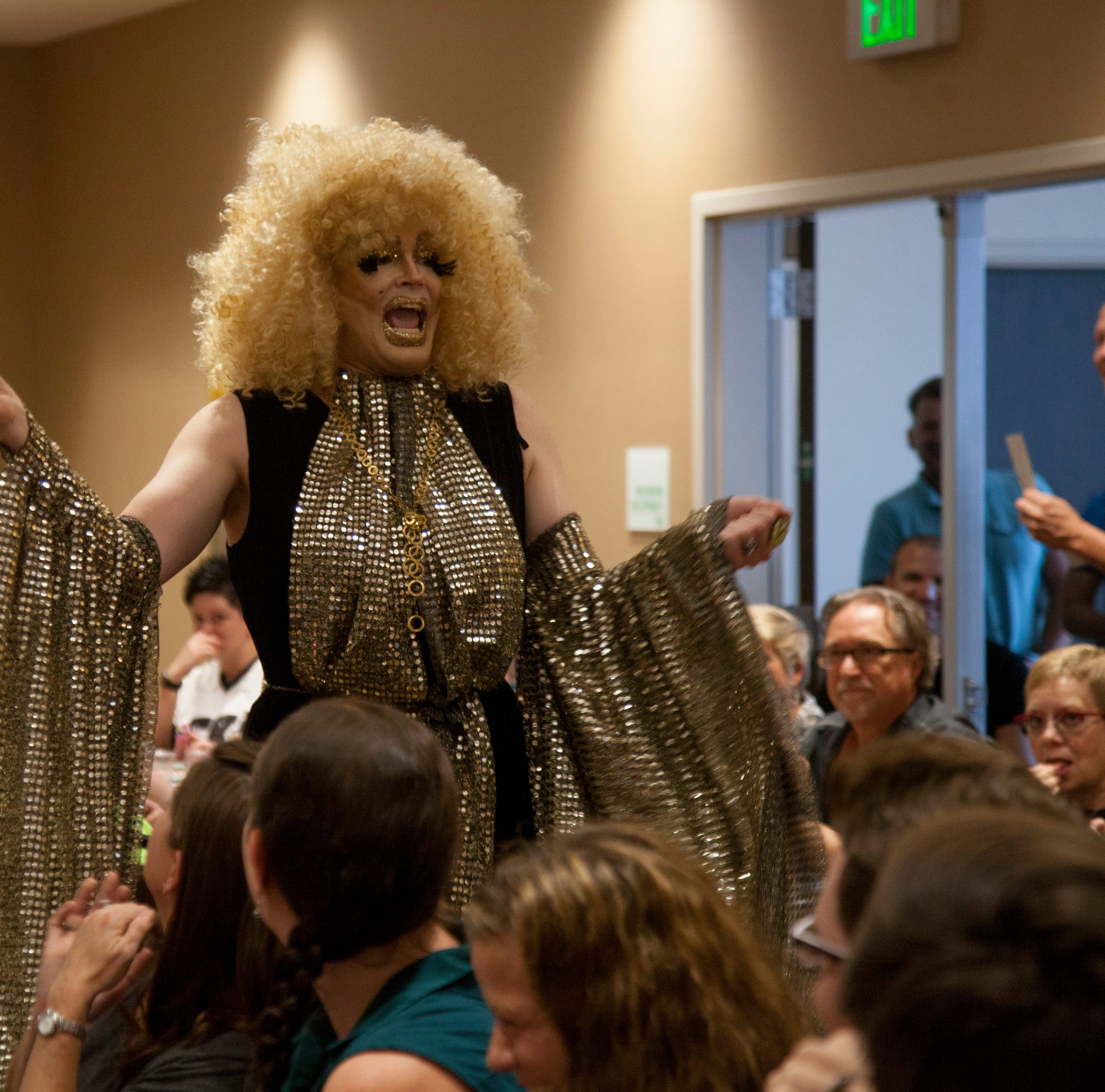 Drag Queen Bingo raises funds for Pride festival, hosts full house