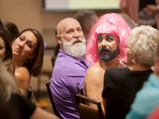 Drag Queen BIngo on July 21, 2018, was a sold-out affair.