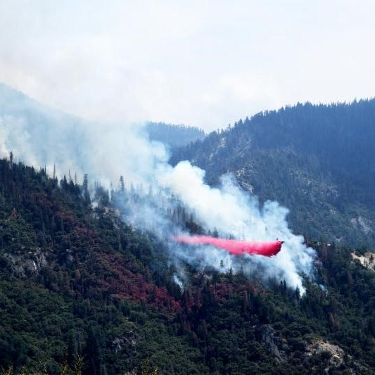 Forest fires near Sequoia, Yosemite national parks grow