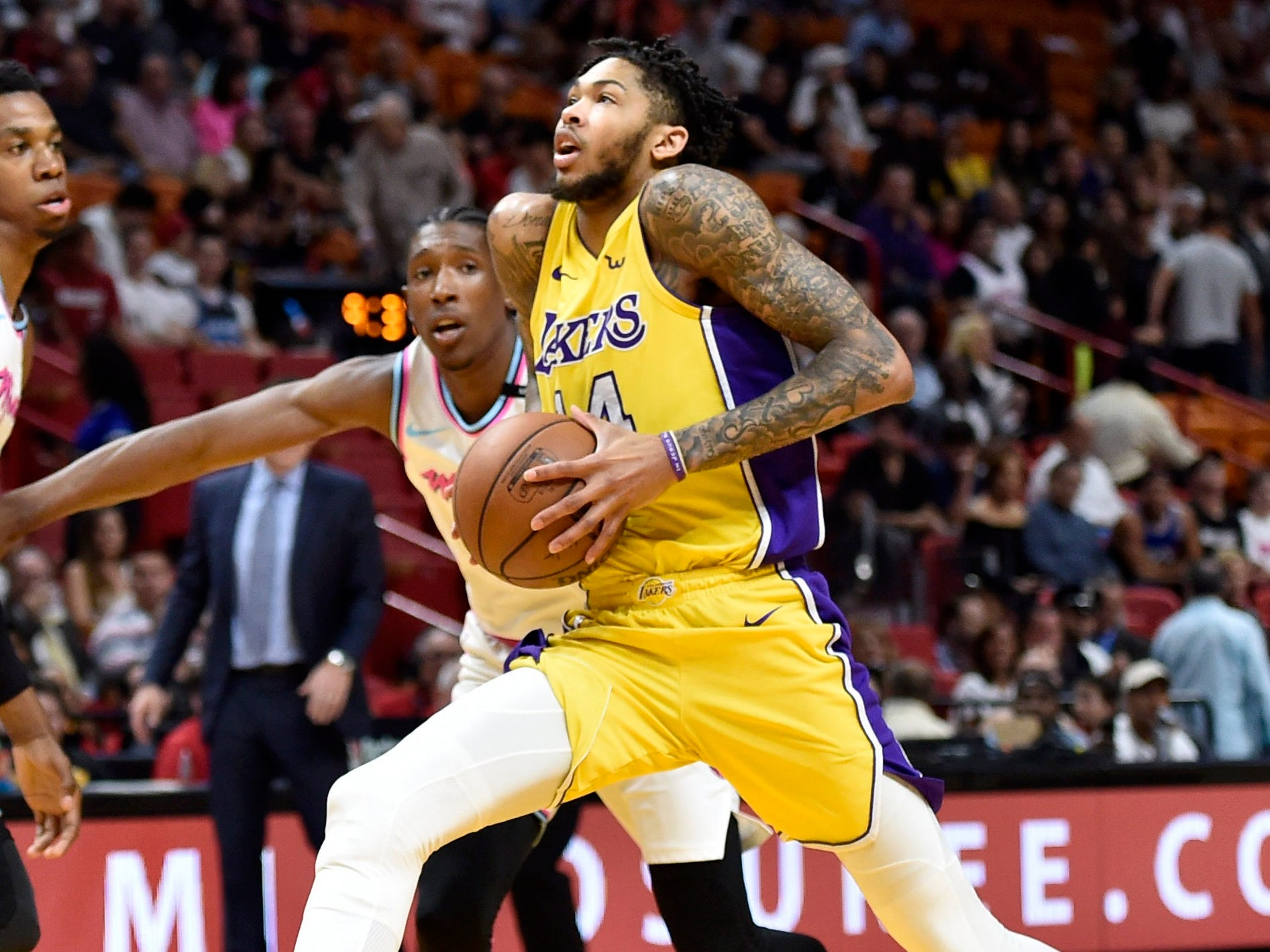 Brandon Ingram, Los Angeles Lakers — 20 (born 9/2/1997)