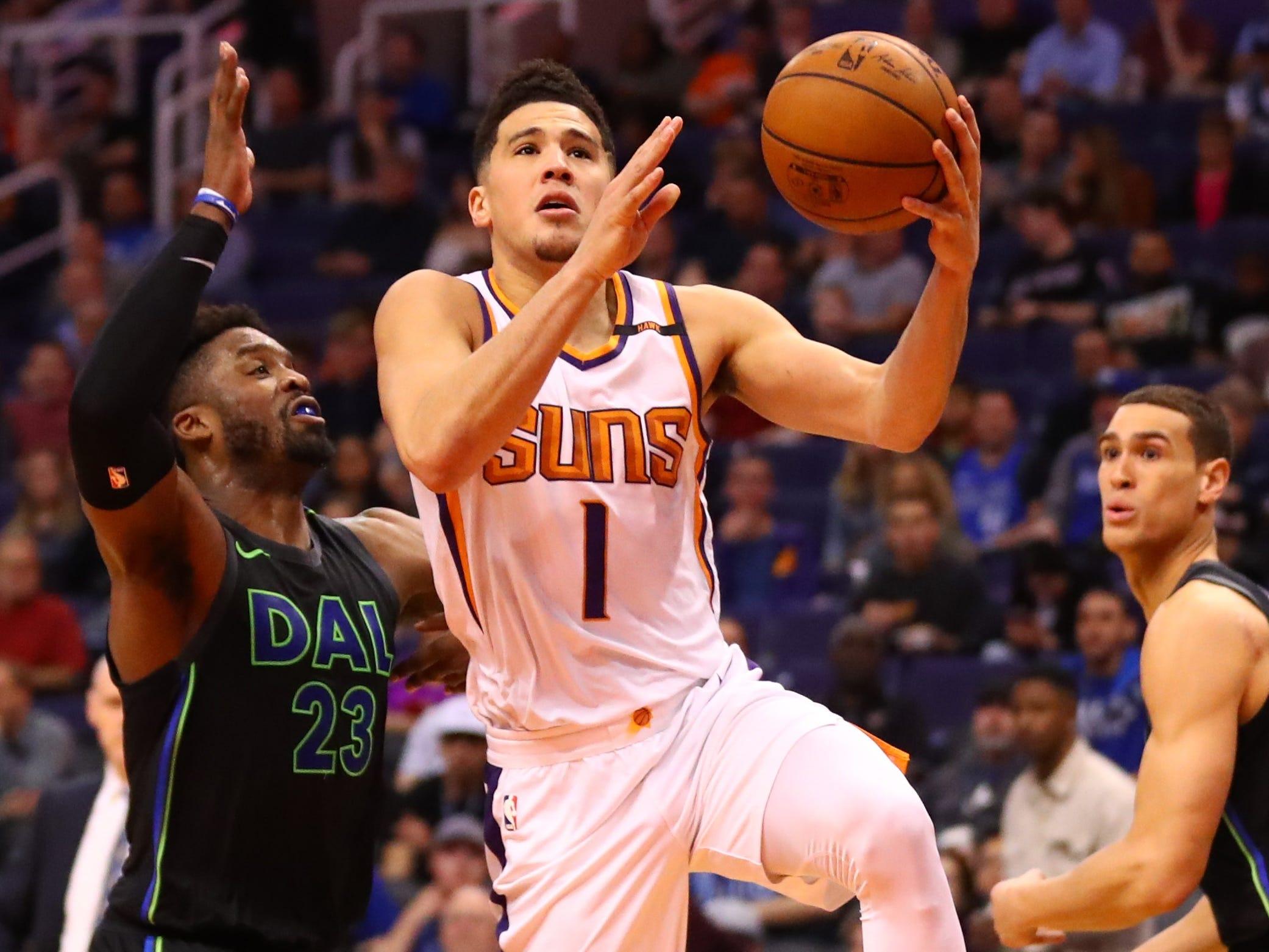 Devin Booker, Phoenix Suns — 21 (born 10/30/1996)
