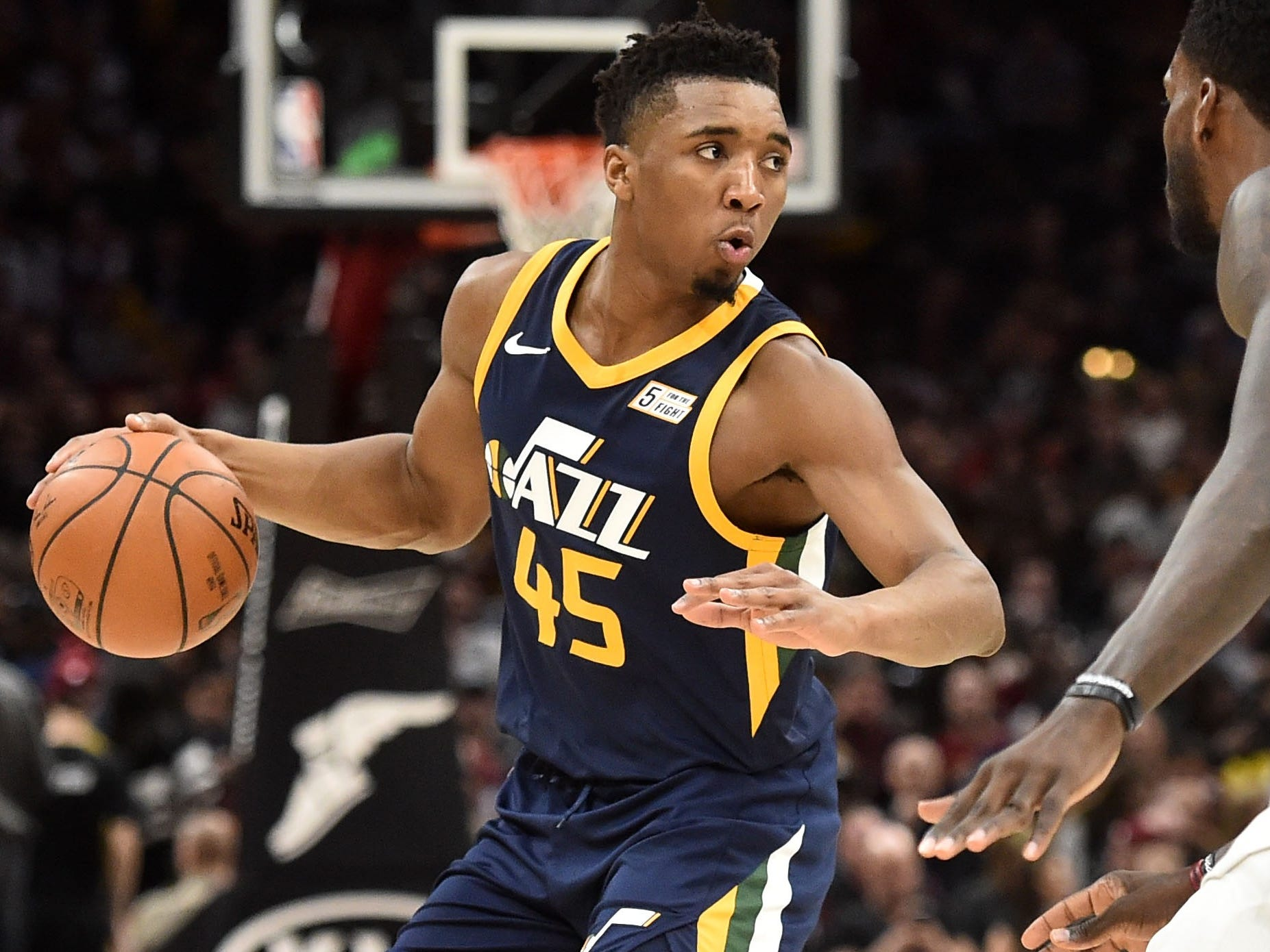 Donovan Mitchell, Utah Jazz — 22 (born 9/7/1996)