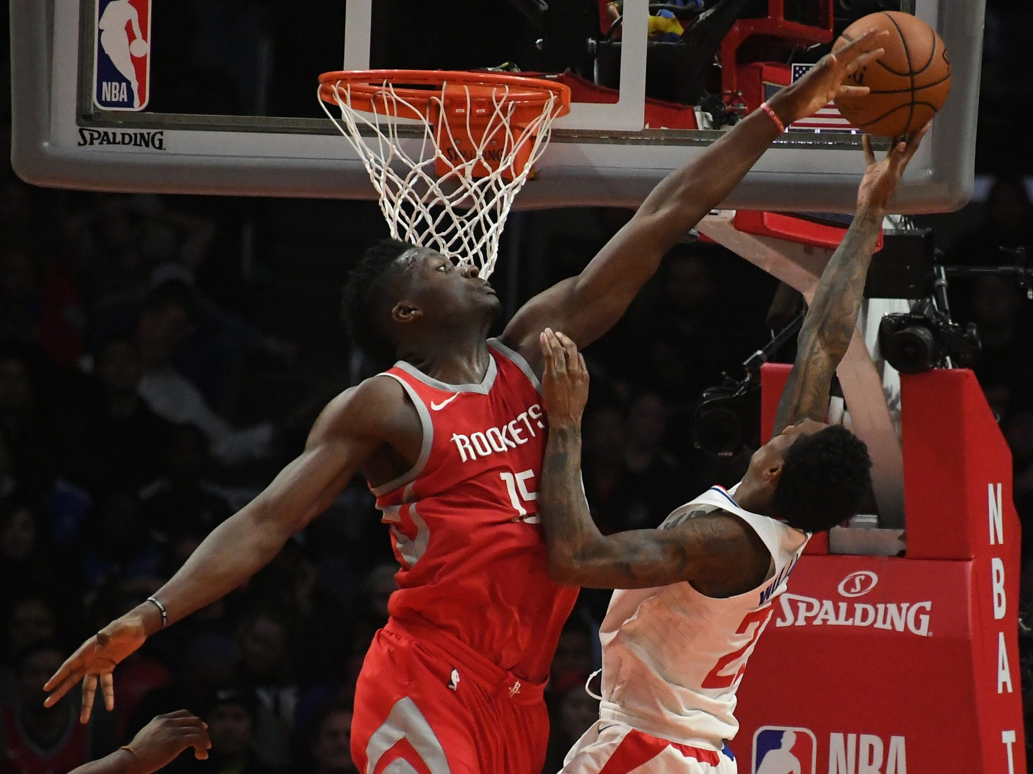 Clint Capela, Houston Rockets — 24 (born 5/18/1994)