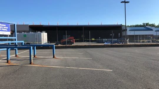 Aldi is building a store at Hazlet Town Center on Route 35 in Hazlet.