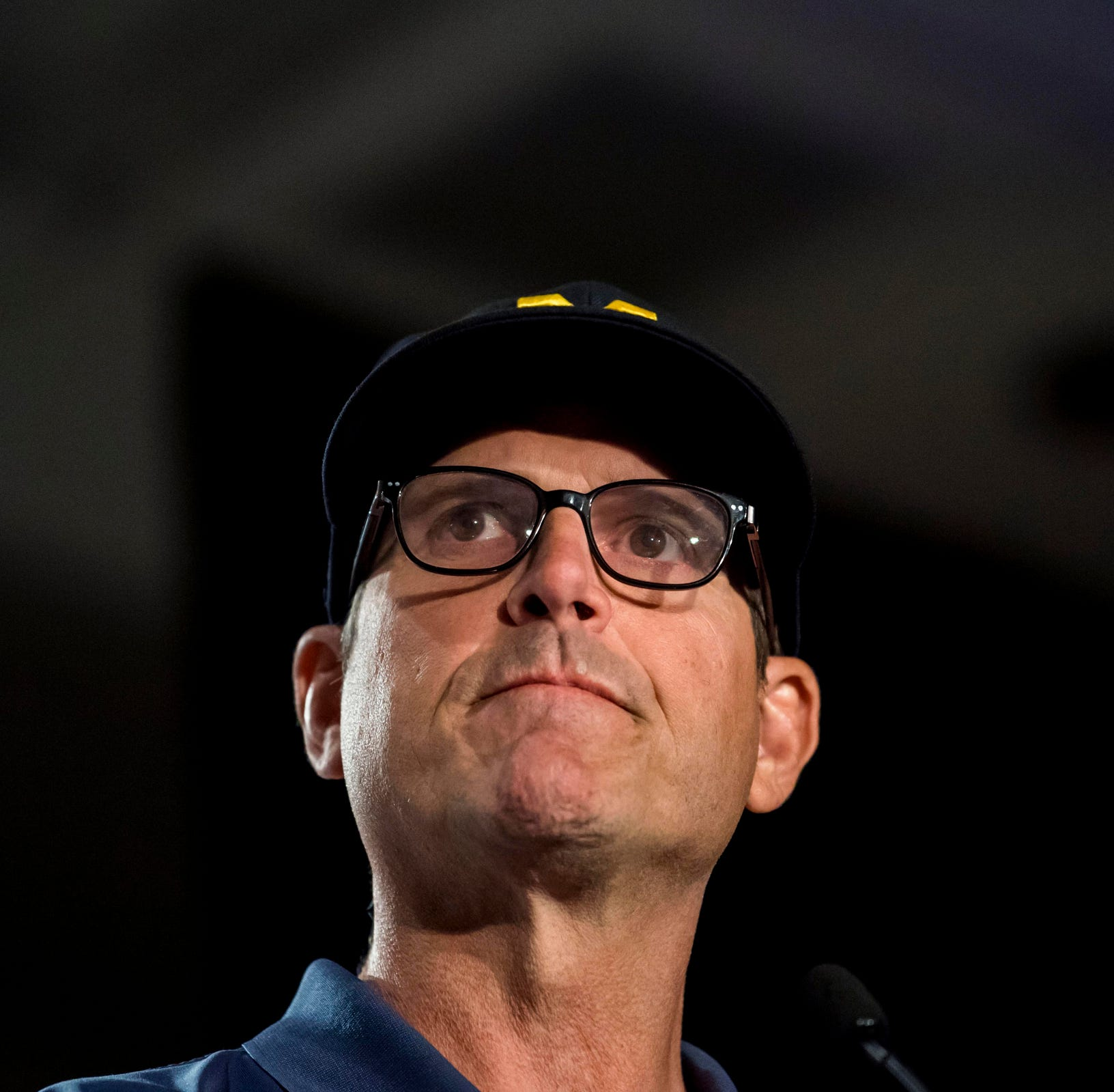Jim Harbaugh doesn't expect any Michigan football shoe suspensions