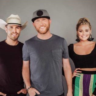 Cole Swindell, Dustin Lynch and Lauren Alaina to stop at Evansville's Ford Center