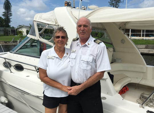 Nancy and Pat McCarn own and operate Cape Coral Canal Charters. They have seen and smelled the recent algae blooms from their backyard and Meredith Canal.