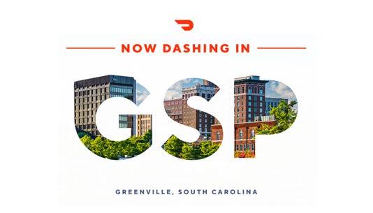 Doordash Greenville Launch Image