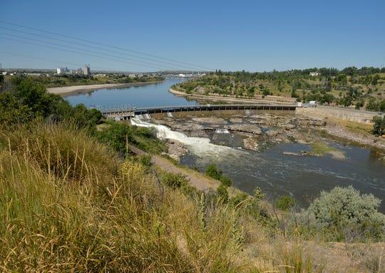The Black Eagle Dam.
