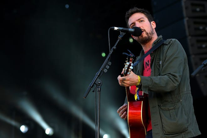Frank Turner will perform Tuesday at Ruoff Home Mortgage Music Center as part of the Vans Warped Tour.