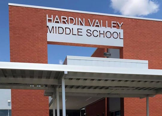 Hardin Valley Middle School Tuesday, July 17.