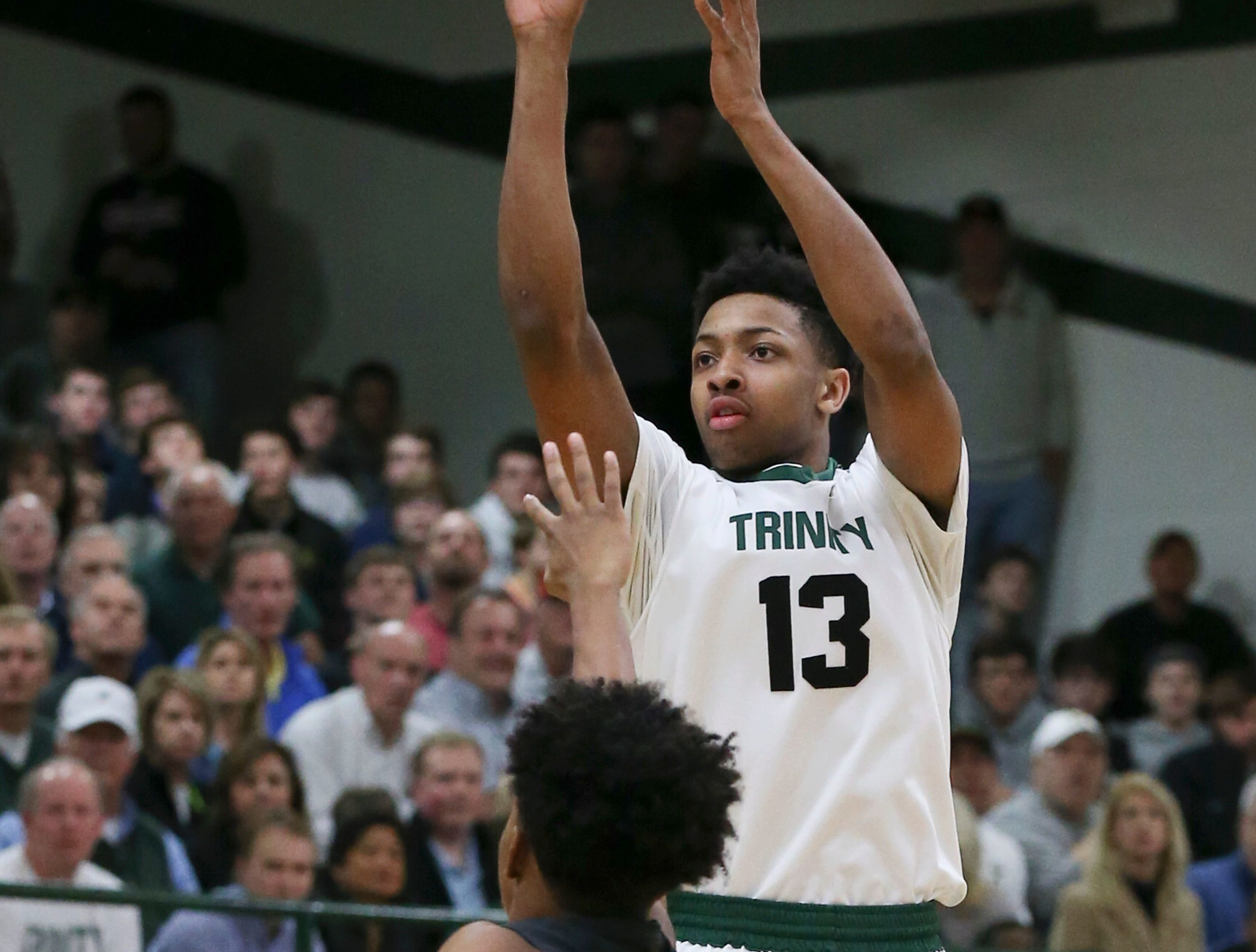 Trinity High basketball star David Johnson plans visit to Louisville