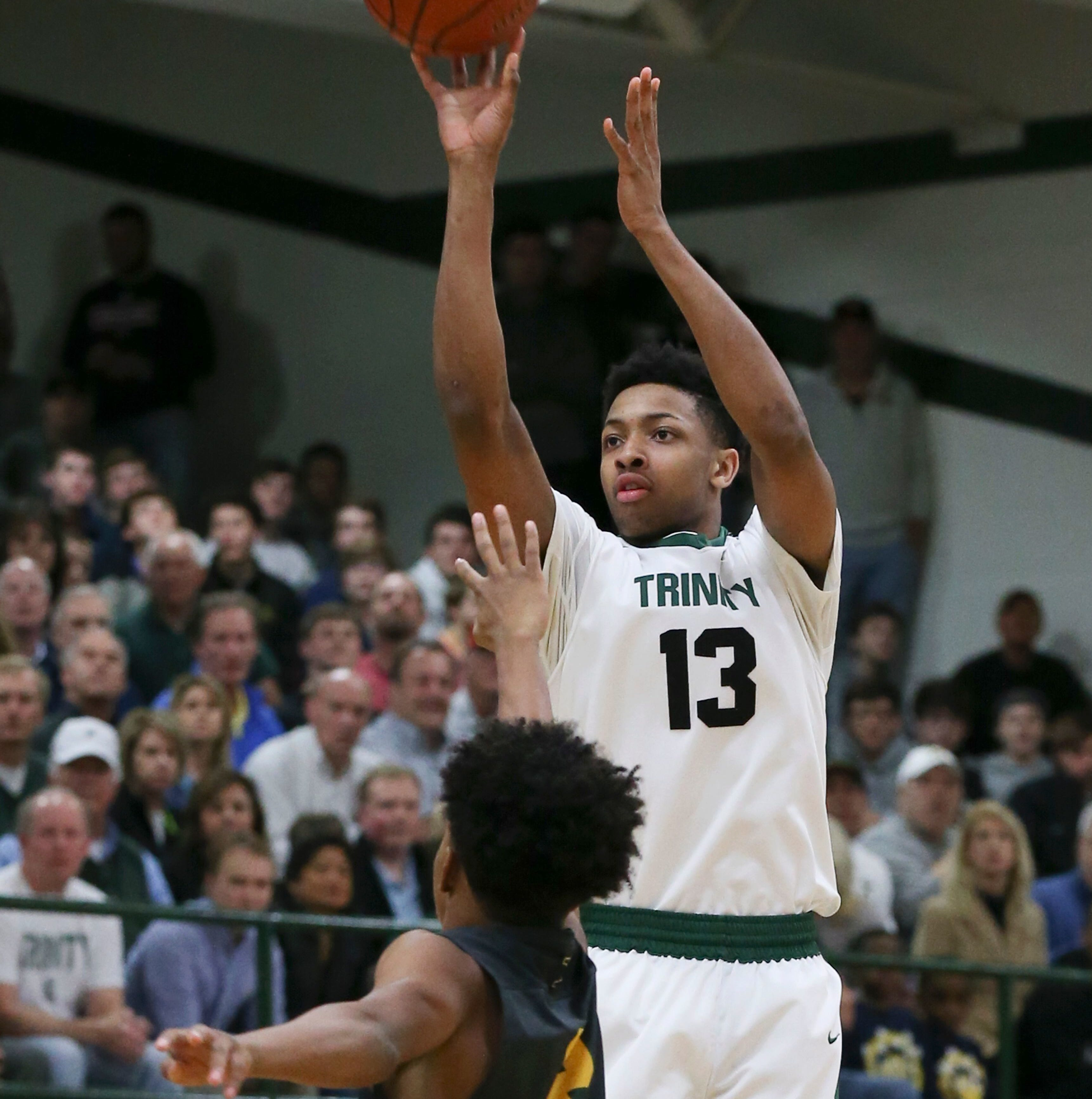 Trinity High basketball star David Johnson plans visit to Louisville