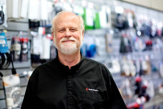 Jim Sytsma, photographed on Friday, July 20, 2018, has owned Clinton Electronics in downtown St. Johns for 37 years, The business, a RadioShack dealership, is closing its doors at the end of August.