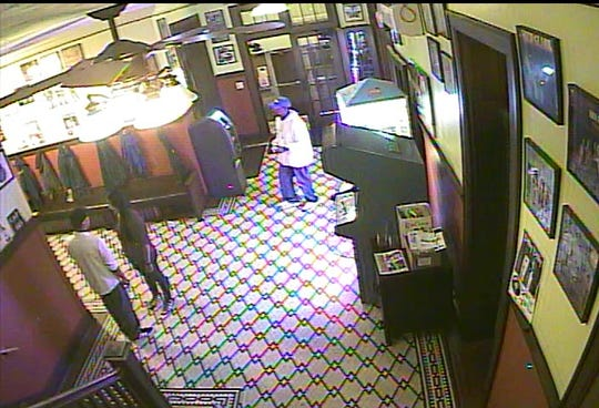 Surveillance video still shows suspect in fight at Revolutions Bar and Grill in Manitowoc July 22 that seriously injured a woman.
