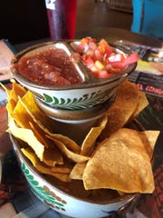 The chips and salsa at Margaritas, Marco Island.