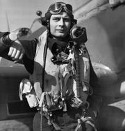 Royal Canadian Air Force pilot Arnold Roseland is shown in this undated photo. Roseland was killed over France in World War II.