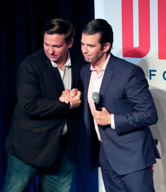Ron Desantis Donald Trump Jr