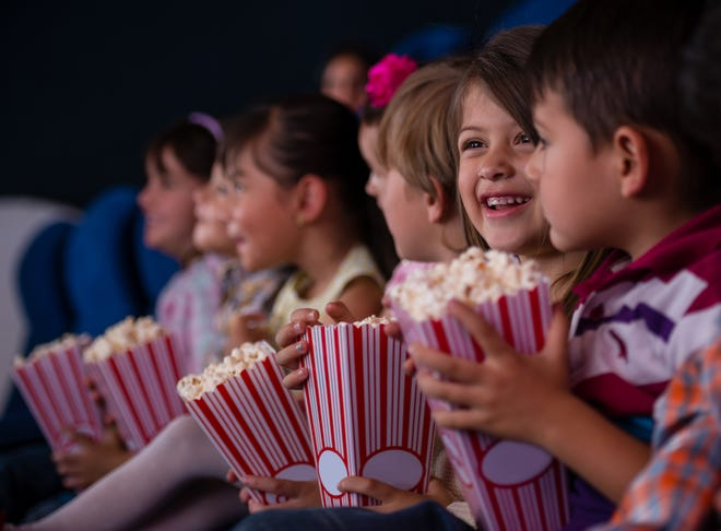 Taking your kids to the movies is a great idea for a rainy summer afternoon.