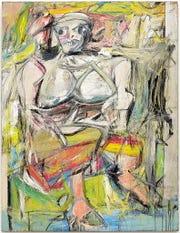 Woman I by Willem de Kooning