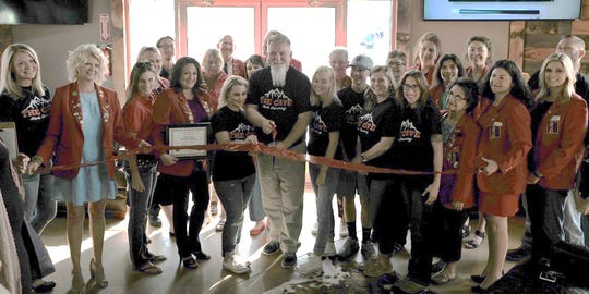The Cave Men's Grooming, 5170 College Blvd., Suite 101, recently celebrated a ribbon cutting.