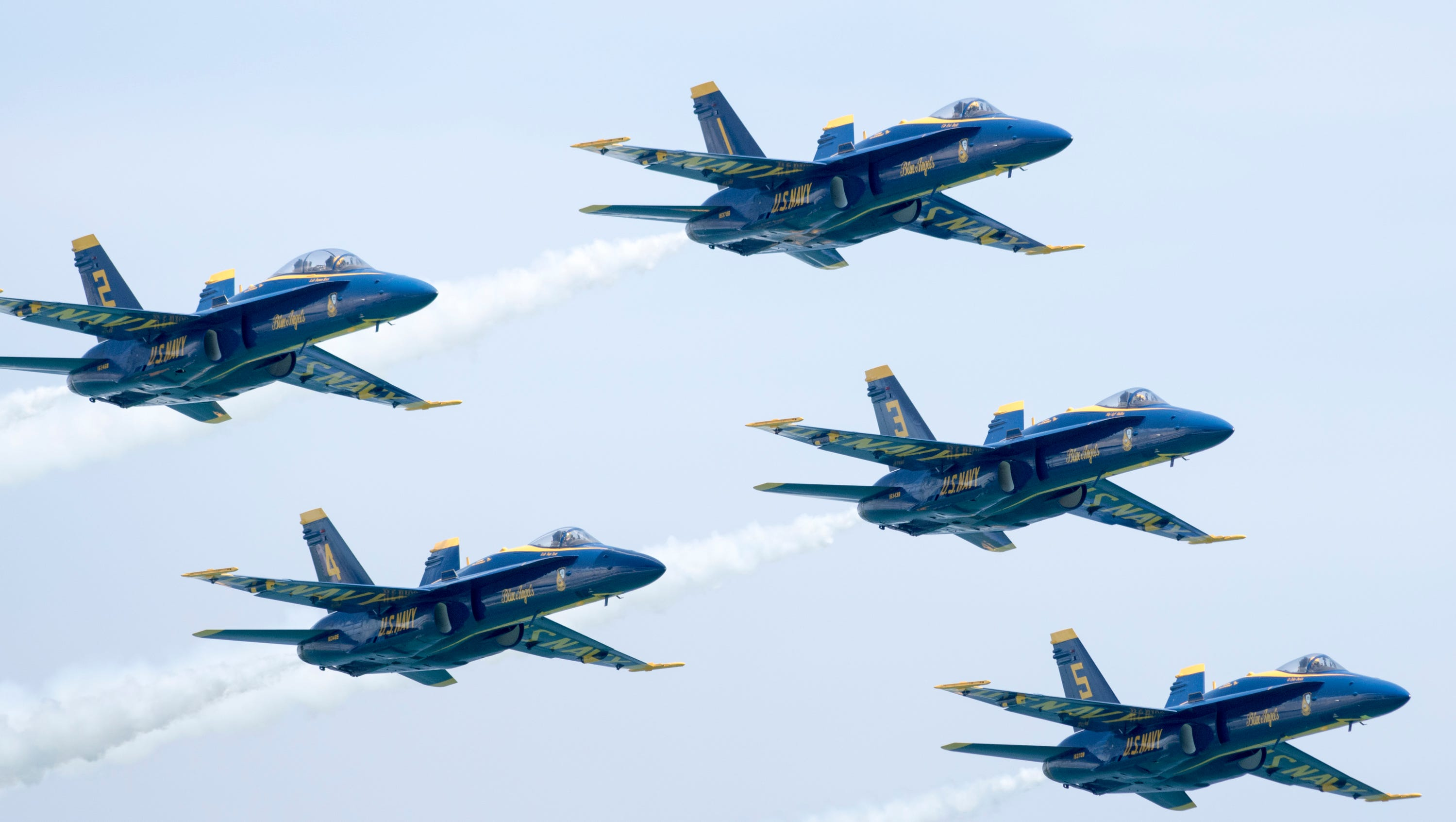air show at Pensacola Beach on Saturday, July 14, 2018.