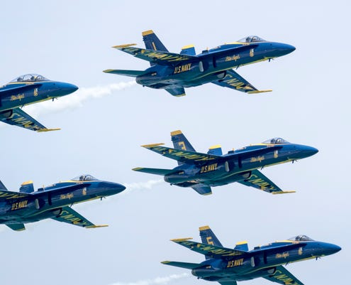 Saturday Blue Angels
