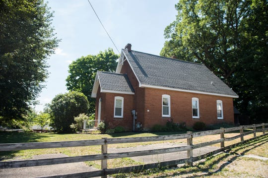 In 1885, Minnie Dahlke was killed and found in her home in Penn Township, which sat just 100 yards behind Krentler's Schoolhouse. The house where Dahlke was found no longer exists.