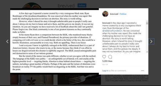 Bill Johnson Apology