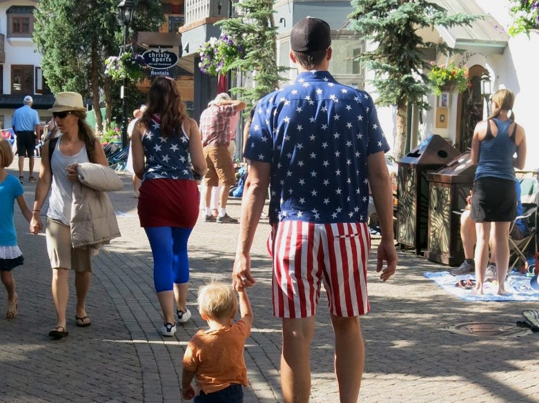 Out & About: July 4 parade in Vail, Colorado
